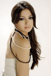 23. Dominique Hourani, Beautiful Model and Singer from Lebanon.